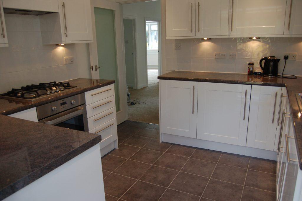 Kitchen installation in Weybridge